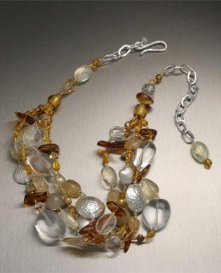 Womens-quartz-rutilated-citrine-amber-silver-necklace-bcn21-1