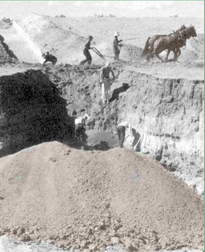 The Lindenmeier Folsom site in Colorado.-1
