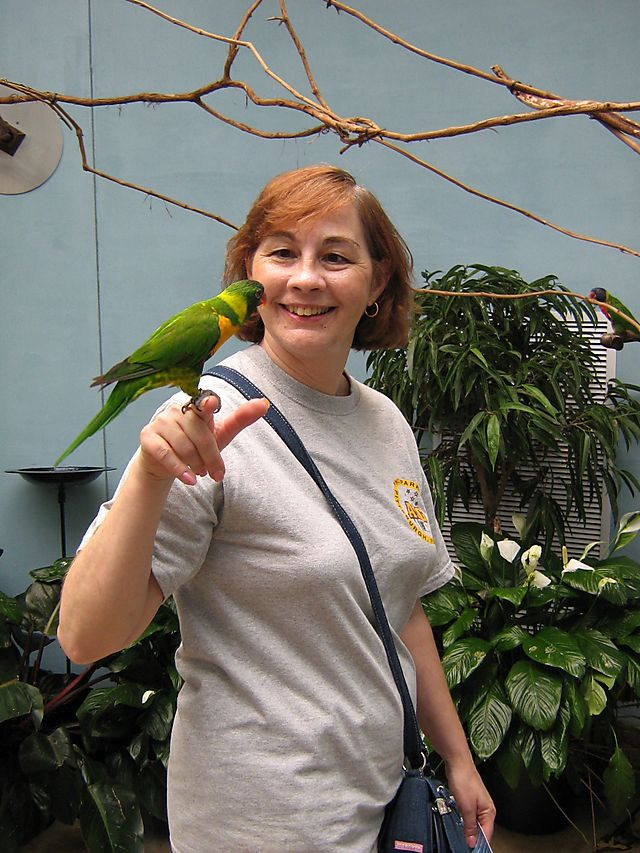 Martha the Bird Whisperer
