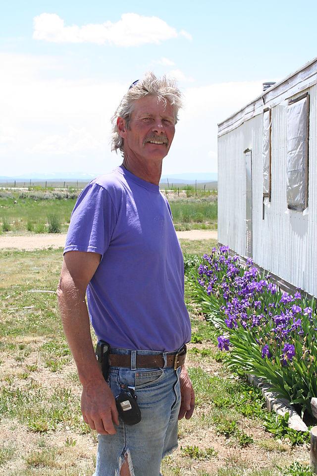 Purple DK and his purple Irises